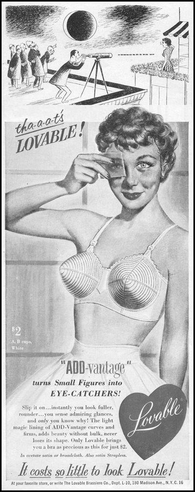 《内衣广告简史》